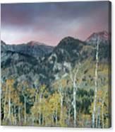 Big Cottonwood Canyon Sunrise Canvas Print
