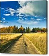 Big Creek Ranch Canvas Print