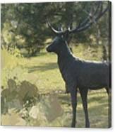 Big Deer Canvas Print