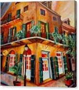 Big Easy Sunset Canvas Print