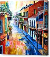 Big Easy Sunshine Canvas Print