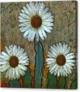 Big Flowers Canvas Print