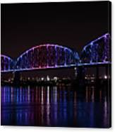 Big Four Bridge 2217 Canvas Print