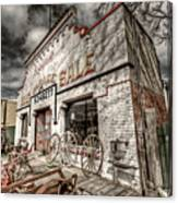 Big Garage Sale Canvas Print
