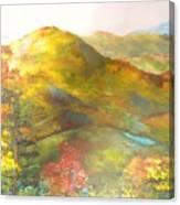 Big Hill Vista Canvas Print