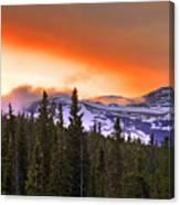 Big Horn Sunset Canvas Print