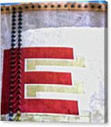 Big Letter E Canvas Print