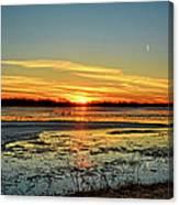 Big Marsh Sunset 2 Canvas Print