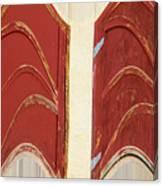 Big Red Doors Canvas Print