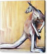 Big Red  Kangaroo Canvas Print