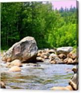 Big Rock Canvas Print