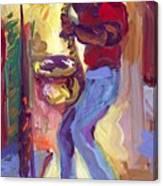 Big Sax Canvas Print