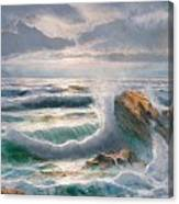 Big Seastorm - Italy Canvas Print