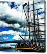 Big Ships Canvas Print