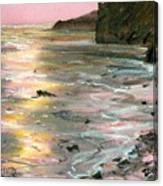 Big Sir Sunset Canvas Print