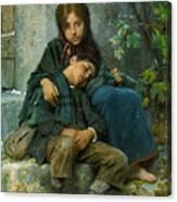 Big Sister 1890 Canvas Print