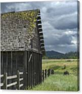 Big Sky Cabin Canvas Print