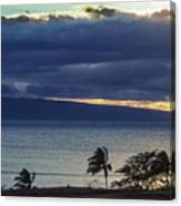 Over Molokai Canvas Print