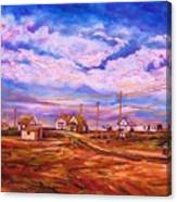 Big Sky Red Earth Canvas Print