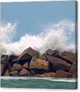Big Splash Canvas Print
