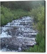 Big Springs Waterfall Canvas Print