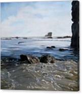 Big Sur Blues Canvas Print