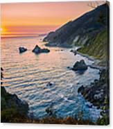 Big Sur Evening Canvas Print