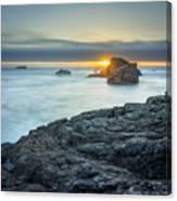 Big Sur Seascape Canvas Print