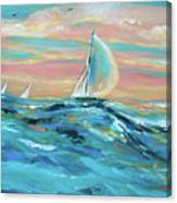 Big Swell Canvas Print