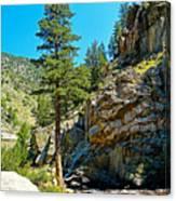 Big Thompson Canyon Pre Flood Moment 2 Canvas Print