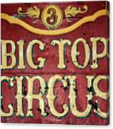 Big Top Circus Canvas Print