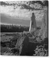 Big Tub Lighthouse Canvas Print