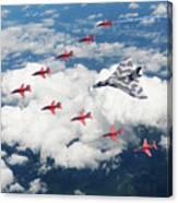Big V Formation Canvas Print