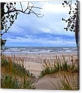 Big Waves On Lake Michigan 2.0 Canvas Print