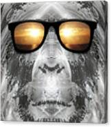 Bigfoot In Shades Canvas Print
