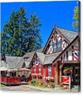 Bigfork Inn Canvas Print