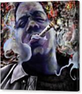 Biggie - Burning Lights 5 Canvas Print