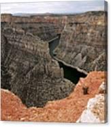 Bighorn Canyon Canvas Print