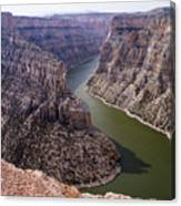 Bighorn Canyon Canvas Print