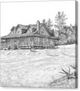Bigness House Canvas Print