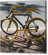 Bike And Rack Canvas Print
