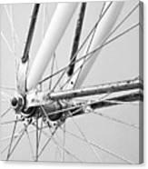 Bike Spokes Canvas Print