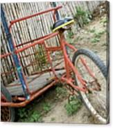 Bike To The Beach Canvas Print