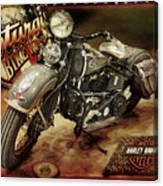 Bike Week Canvas Print