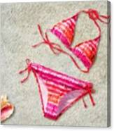 Bikini - Id 16218-130715-5870 Canvas Print