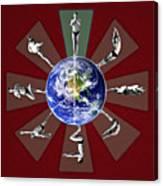 Bikram Yoga Canvas Print