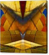 Bilateral Colors Canvas Print