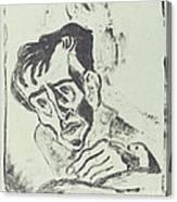 Bildnis Dr. Gr. Canvas Print