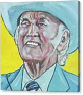 Bill Monroe Canvas Print