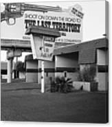 Billboard The Last Territory Tucson Arizona 1987 Canvas Print